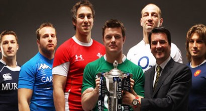 Graham London and the Six Nations